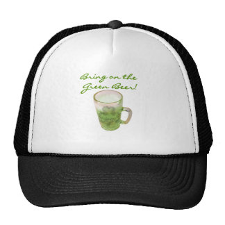Bring on the Green Beer Tshirts and Gifts Hat