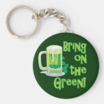 BRING ON THE GREEN! KEY CHAINS