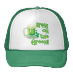BRING ON THE GREEN! MESH HAT