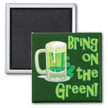 BRING ON THE GREEN! REFRIGERATOR MAGNETS