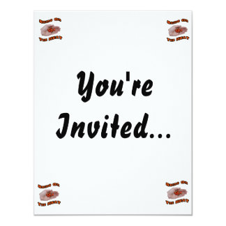 Bring On The Heat Cascabel Hot Peppers Hand 11 Cm X 14 Cm Invitation Card