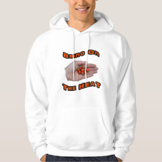 Bring On The Heat Cascabel Hot Peppers Hand Sweatshirt