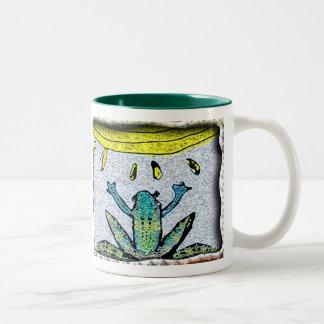 bring on the rain Two-Tone coffee mug