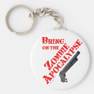 Bring on the Zombie Apocalypse Key Ring