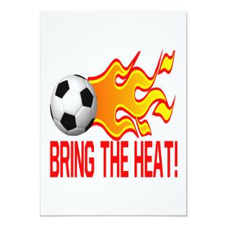 Bring The Heat 13 Cm X 18 Cm Invitation Card