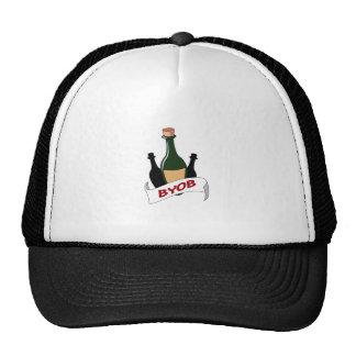 BRING YOUR OWN BOOZE TRUCKER HAT
