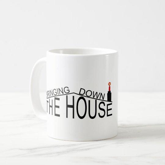 Bringing Down The House logo mug