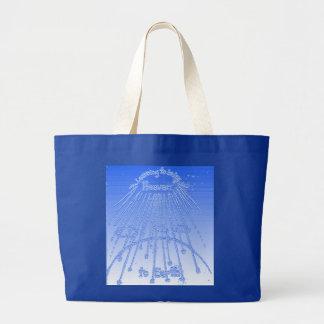 Bringing Heaven to Earth Jumbo Tote Bag