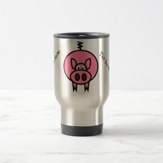 Bringing Home The Bacon Travel Mug