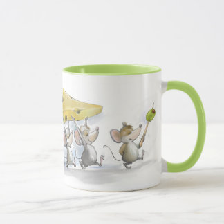Bringing In the Cheese (with Olives) Mug