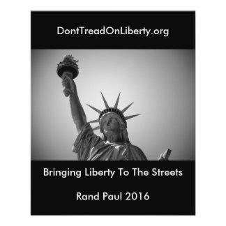 Bringing Liberty To The Streets 11.5 Cm X 14 Cm Flyer