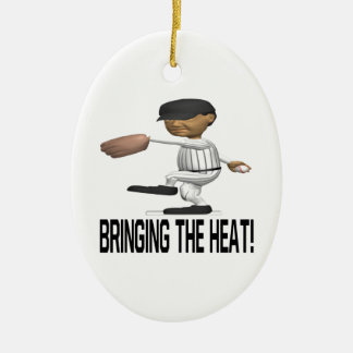 Bringing The Heat Christmas Ornament