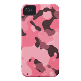 Brink Pink Camo; Camouflage iPhone 4 Covers