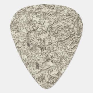 Brioude, Issoire Guitar Pick