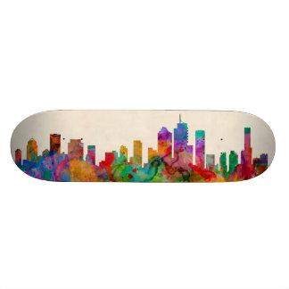 Brisbane Australia Skyline Cityscape Skate Board