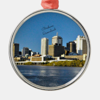 Brisbane, Queensland cityscape Christmas Ornament