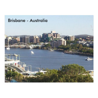 Brisbane River, Brisbane, Queensland, Australia Postcard