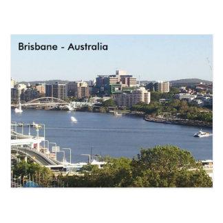 Brisbane River, Brisbane, Queensland, Australia Postcard