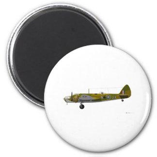 Bristol Aeroplane Co Blenheim 6 Cm Round Magnet