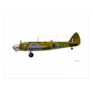 Bristol Aeroplane Co Blenheim Postcard