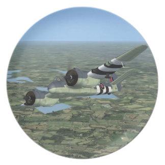 Bristol Beaufighter Plane Plate