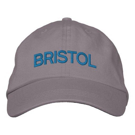 Bristol Cap Embroidered Baseball Caps