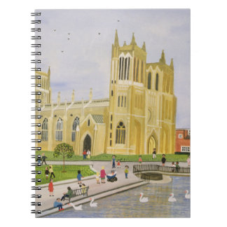 Bristol Cathedral and College Green 1989 Notebook