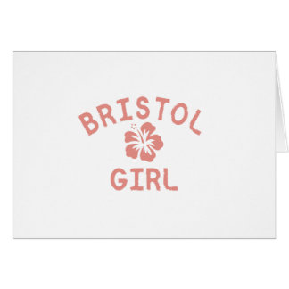Bristol CN Pink Girl Card