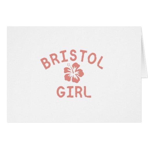 Bristol CN Pink Girl Card