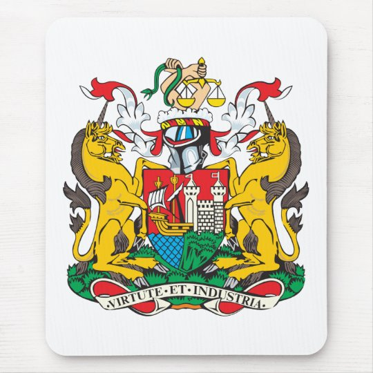 Bristol Coat of Arms Mouse Pad