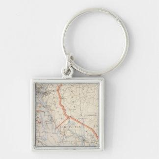 Bristol Country, Rhode Island Key Ring