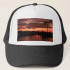 Bristol Rhode Island sunset Trucker Hat