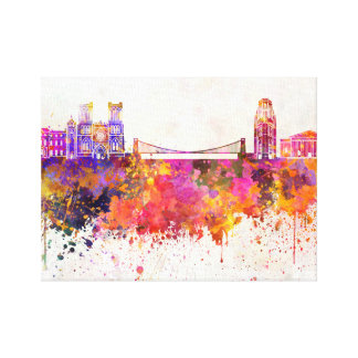 City skyline canvas prints