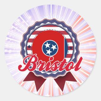 Bristol, TN Sticker