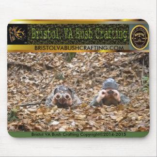 Bristol VA Bush Crafting© Mouse Pad