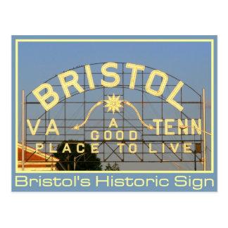 Bristol, VA & TN Historic Sign Postcards