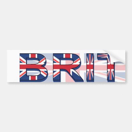BRIT BUMPER STICKER