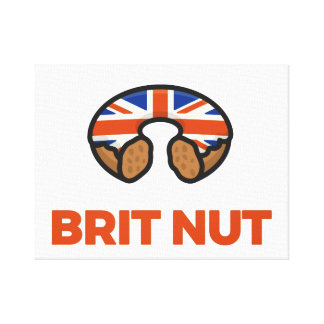 Brit Nut Canvas Print