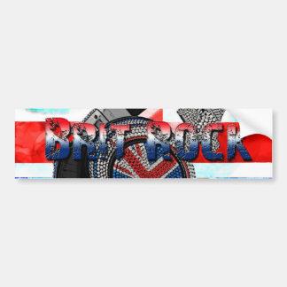 Brit Rock Car Bumper Sticker