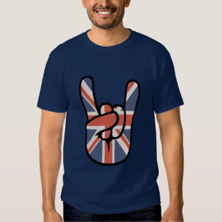 Brit Rock Hand Tee Shirt