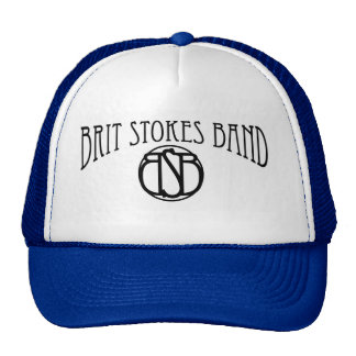 Brit Stokes Band trucker hat