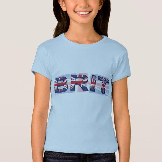 Brit, Union Jack style T-Shirt