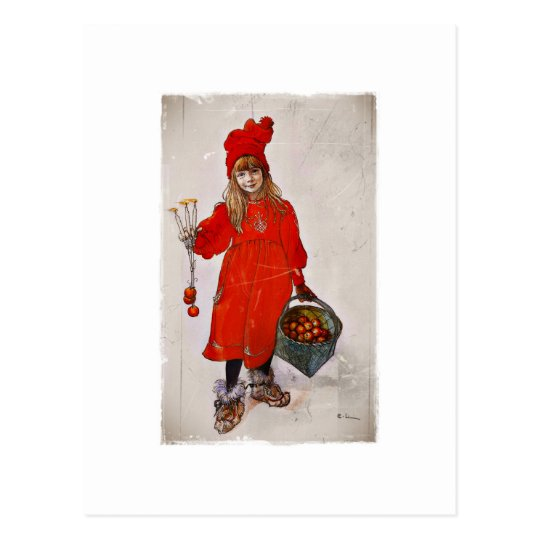Brita as Iduna Postcard