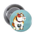 britain 6 cm round badge