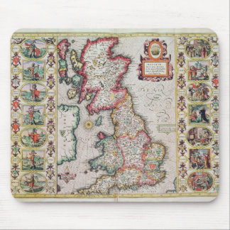 Britain As It Was Devided In The Tyme Mouse Mat