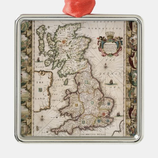 Britain As It Was Devided In The Tyme of the Engli Ornaments