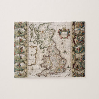 Britain As It Was Devided In The Tyme of the Engli Jigsaw Puzzle