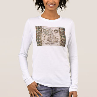 Britain As It Was Devided In The Tyme of the Engli Long Sleeve T-Shirt