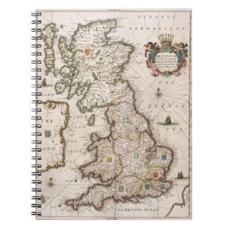 Britain As It Was Devided In The Tyme of the Engli Spiral Note Books