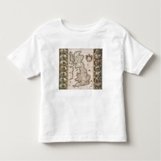 Britain As It Was Devided In The Tyme of the Engli Toddler T-Shirt